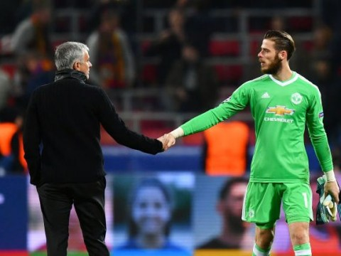 Jose Mourinho reveals what he told David De Gea after Manchester United heroics