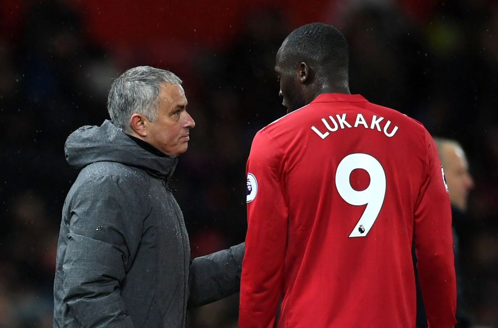 Romelu Lukaku involved in bust-up with Manchester United manager Jose Mourinho
