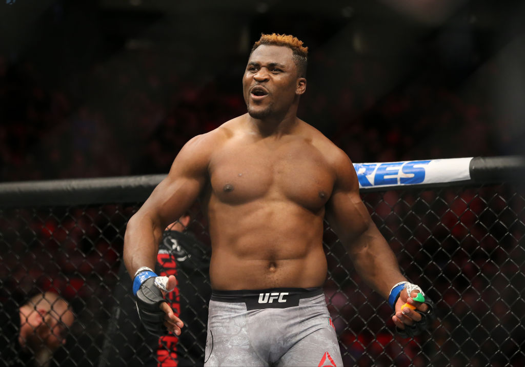 Francis Ngannou aims to inspire Cameroon people by stripping Stipe Miocic of UFC title