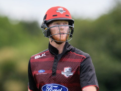 England all-rounder Ben Stokes run out for one-ball duck for Canterbury