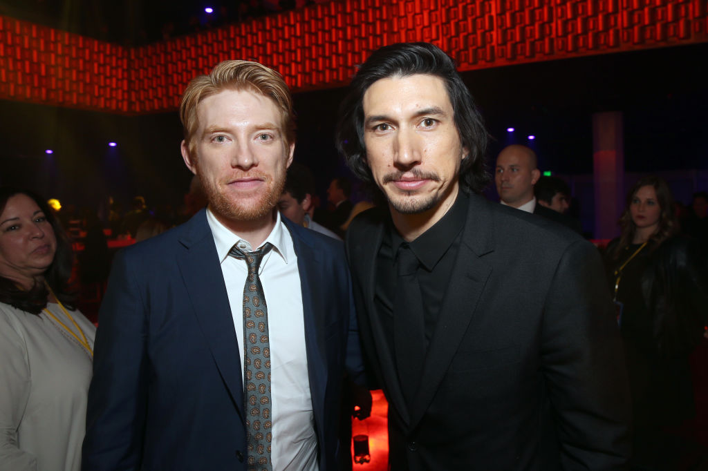 Domhnall Gleeson praises his Star Wars: The Last Jedi co-star Adam Driver: 'He keeps it fresh'