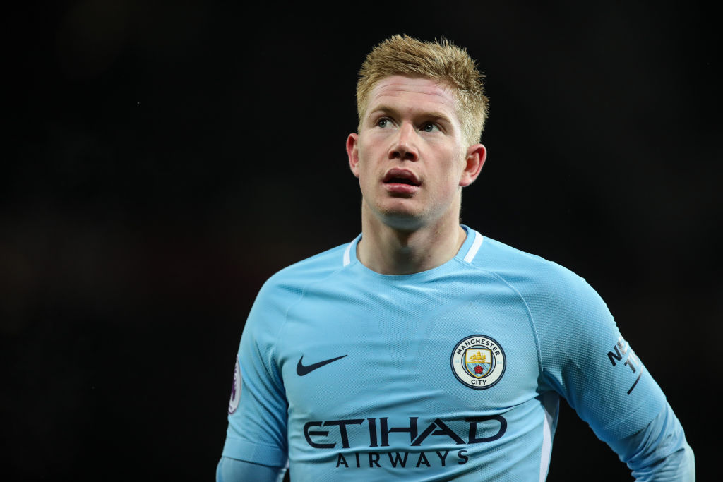 Pep Guardiola believes Manchester City's Kevin De Bruyne could win the Ballon d'Or
