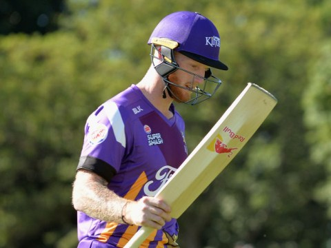 England all-rounder Ben Stokes returns to form with 93 off 47 balls