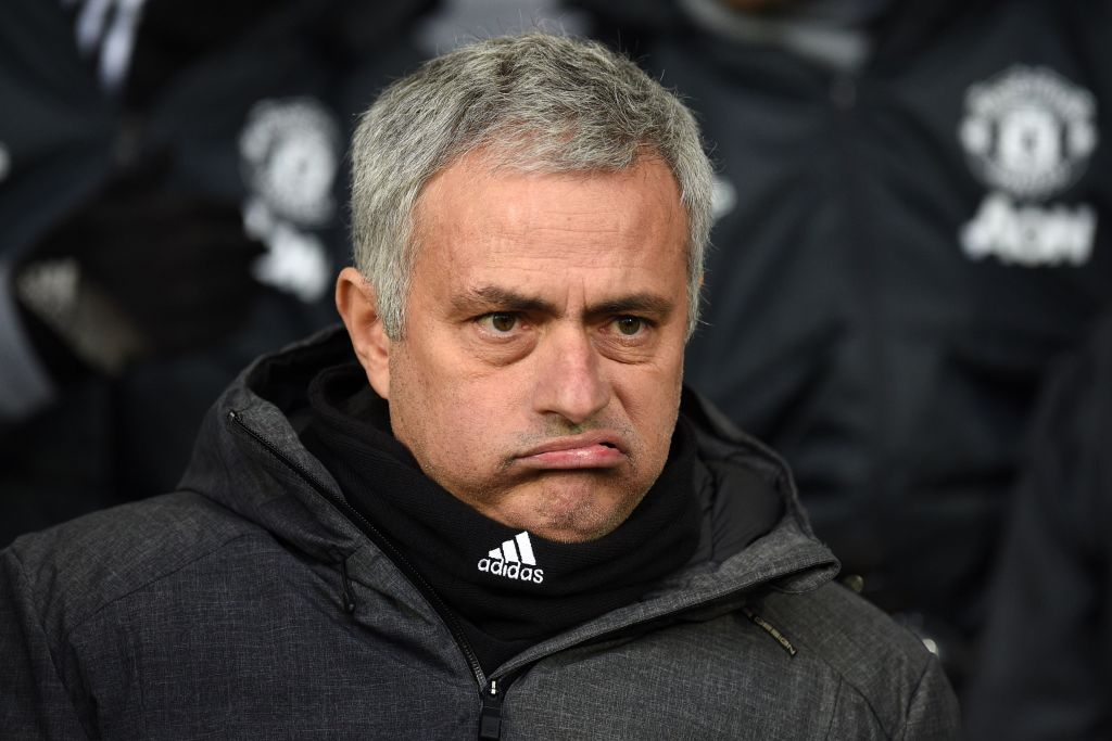 Sour grapes? Jose Mourinho snubbed Lee Johnson's wine after Manchester United defeat
