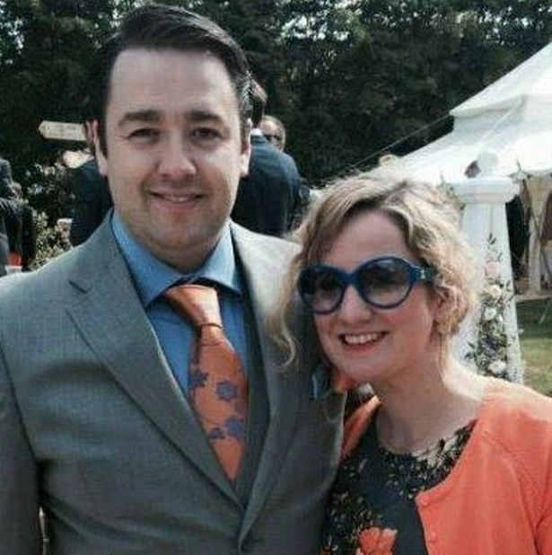 Jason Manford marries partner Lucy Dyke in pre-Christmas ceremony in Manchester