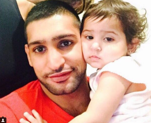 Amir Khan receives death threats after putting up a Christmas tree for his daughter