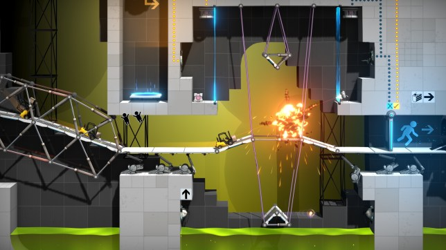 Bridge Constructor Portal (PC) - this was a triumph