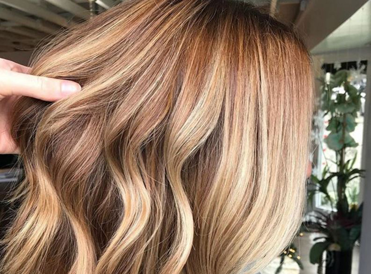 cider and spice hair trend