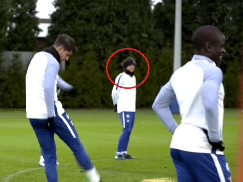 'Injured' David Luiz spotted back in Chelsea training ahead of Newcastle clash