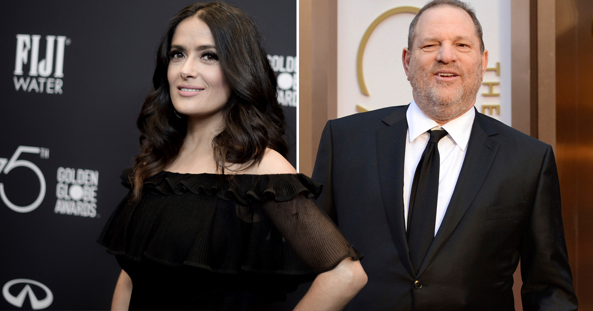 Harvey Weinstein responds to Salma Hayek's allegations of sexual harassment