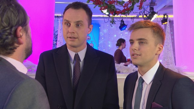 James and Harry go to a date in Hollyoaks