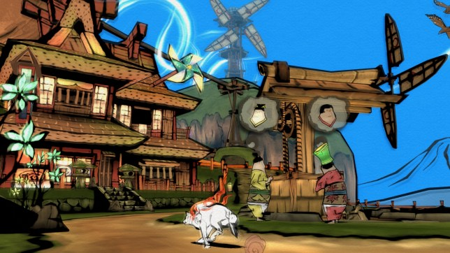 Okami HD (PS4) - doggone great