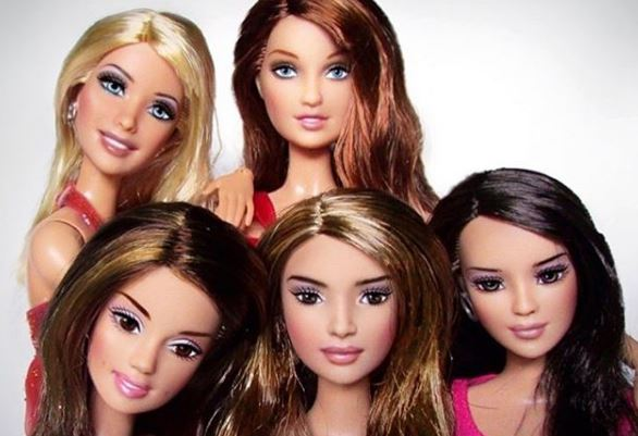 Nicola Roberts posts picture of all five Girls Aloud dolls after 'shunning Nadine and Sarah on anniversary'