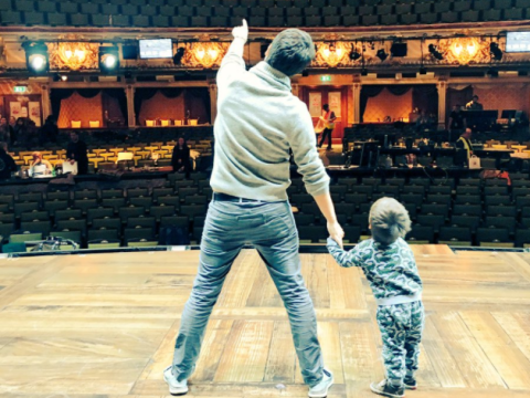 The cast of Hamilton the Musical are preparing for the first London preview tonight