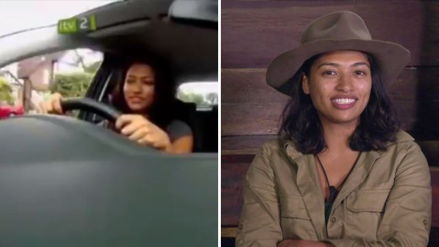 Old video of I'm A Celeb's Vanessa White emerges of her hilariously failing driving lesson