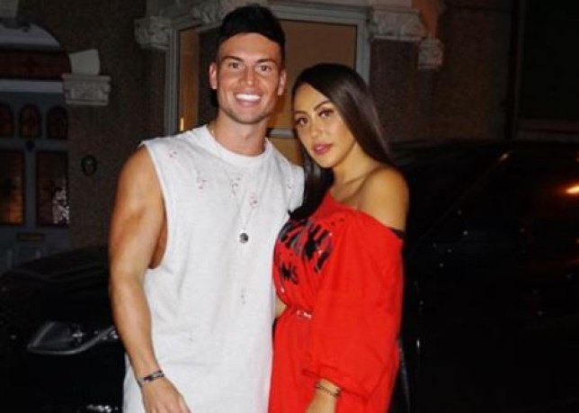 Joel Corry and Sophie Kasaei
