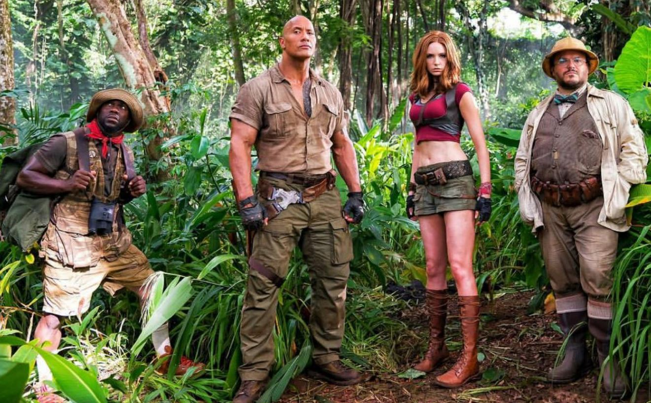 Jumanji: Welcome To The Jungle lovingly lampoons video game tropes – but is far from a classic