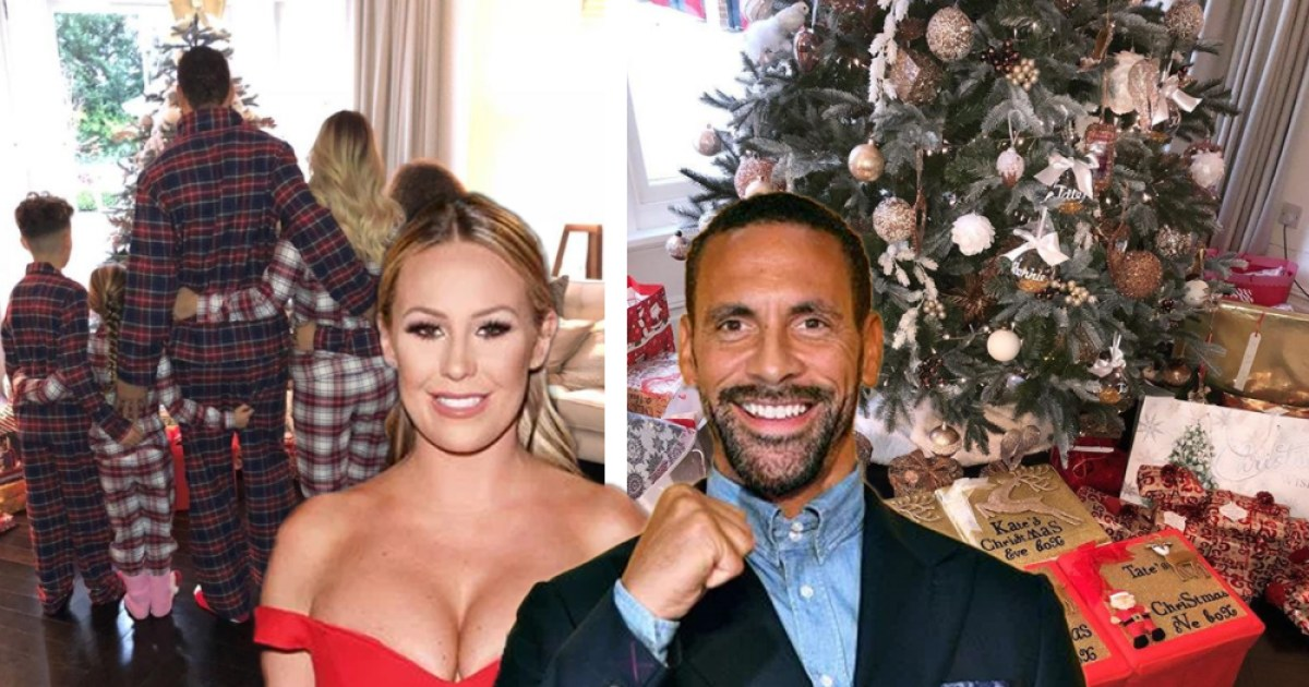 TOWIEs Kate Wright spends the night with Rio Ferdinand