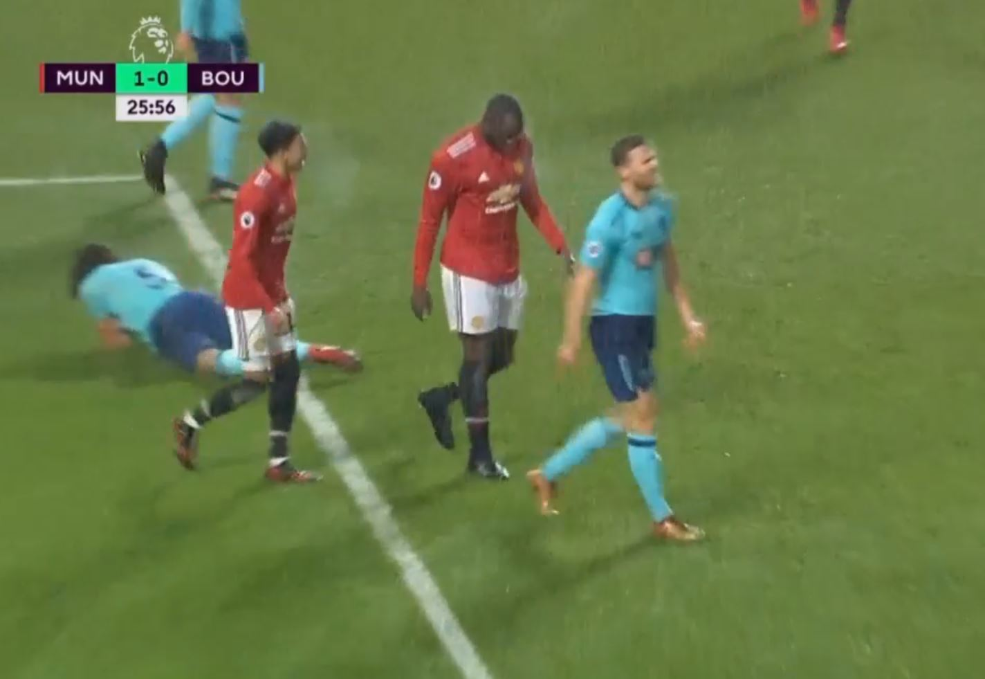 Romelu Lukaku silences critics with ice-cold reaction to goal vs Bournemouth