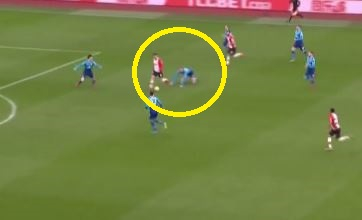 Per Mertesacker makes TWO terrible mistakes in build-up to Southampton opener