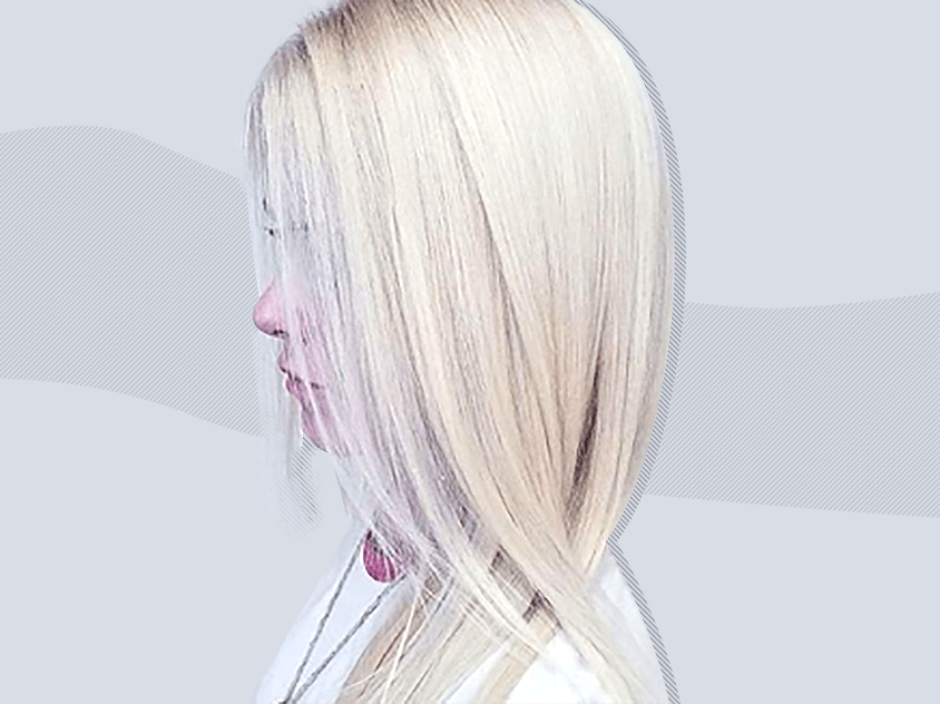 Marshmallow hair is the new hair trend to try this winter
