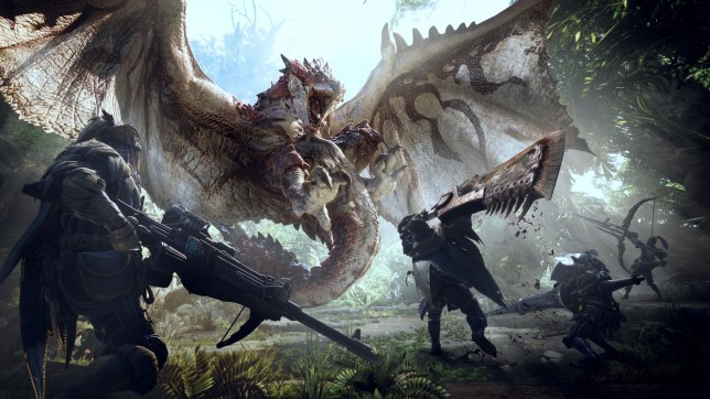 How do you play co-op with friends in Monster Hunter: World?
