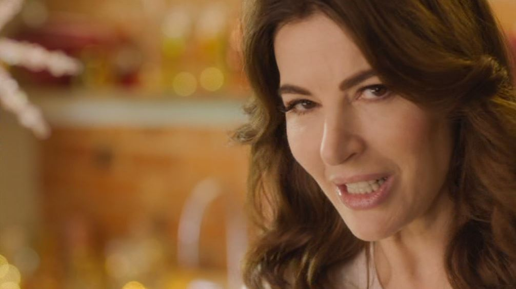 People are worried for Nigella's dinner guests after over-enthusiastic seasoning on BBC Christmas special