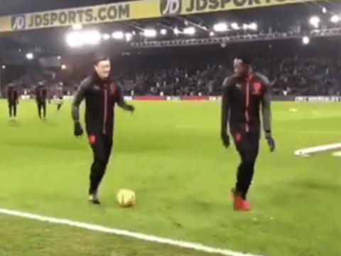 Mesut Ozil absolutely ruins Danny Welbeck with genius skill at Crystal Palace