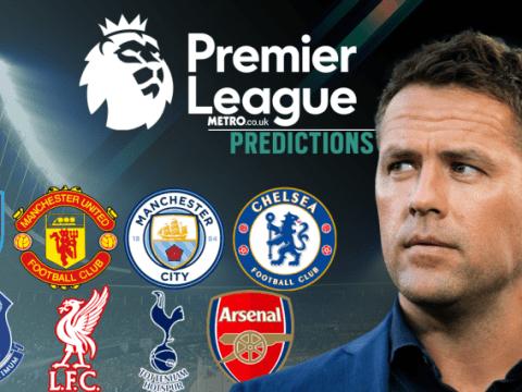 Michael Owen's Premier League predictions, including Arsenal v Liverpool