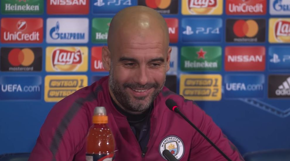 Fake news? Pep Guardiola's bizarre reaction with asked about David Silva's injury ahead of Manchester United clash