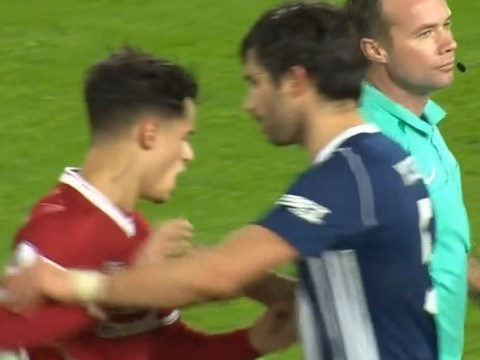 Philippe Coutinho loses his cool as Dominic Solanke has goal disallowed vs West Brom