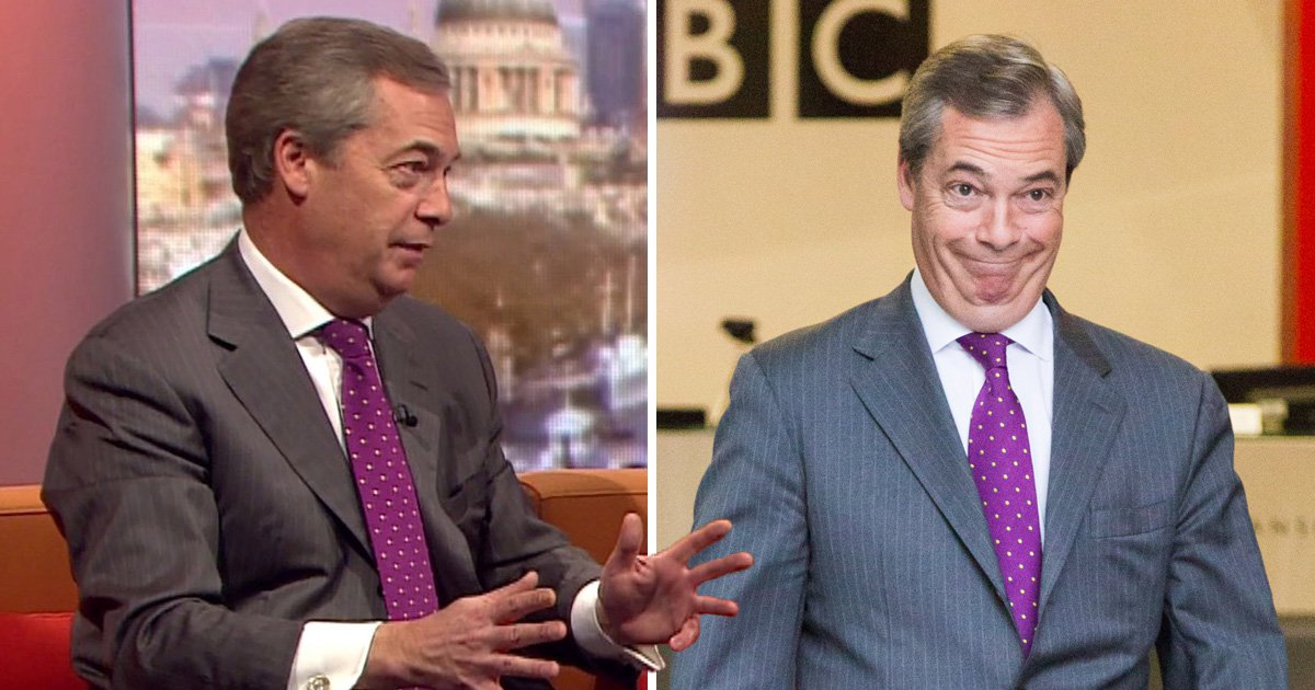 Nigel Farage won't give up his £73,000 EU pension