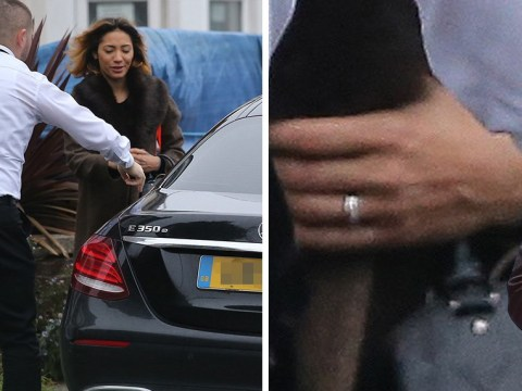Karen Clifton leaves home with accountant Stuart Wood amid rumours of split from husband Kevin