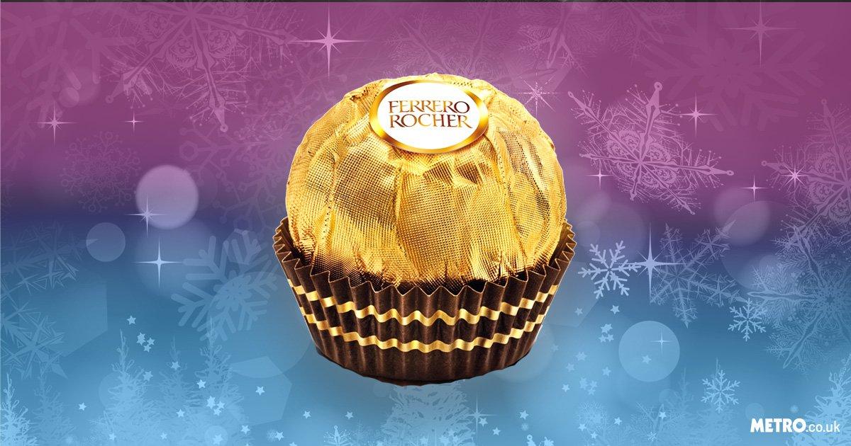 Ferrero Rocher are now the UK's favourite festive sweets