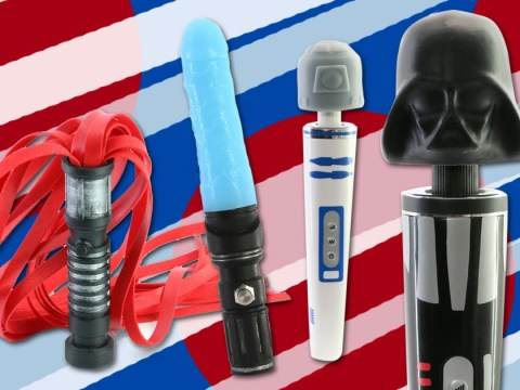 Feel the force with your own set of Star Wars themed sex toys