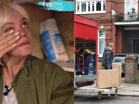Moving van spotted outside property Lily Allen rents after claims she'd be homeless at Christmas