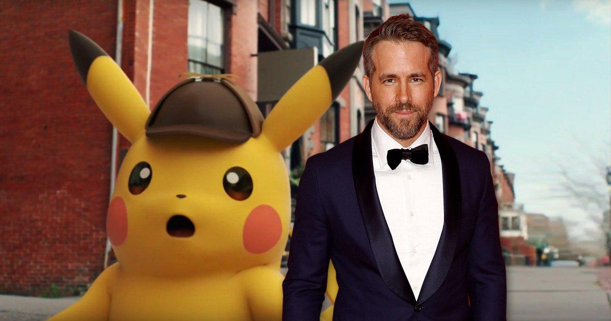 Ryan Reynolds to play Pikachu in live-action Pokemon movie