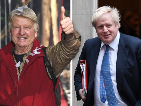 I'm A Celebrity's Stanley Johnson asks if Boris is still Foreign Secretary after being evicted from jungle