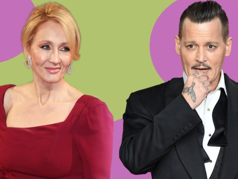JK Rowling is 'genuinely happy' to have Johnny Depp in Fantastic Beasts