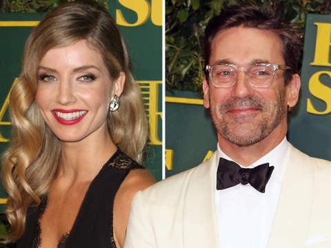 Mad Men's Jon Hamm 'dating Peaky Blinders actress Annabelle Wallis'
