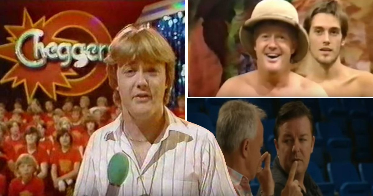 From Cheggers Plays Pop to Extras and Naked Jungle: A look at Keith Chegwin's funniest moments