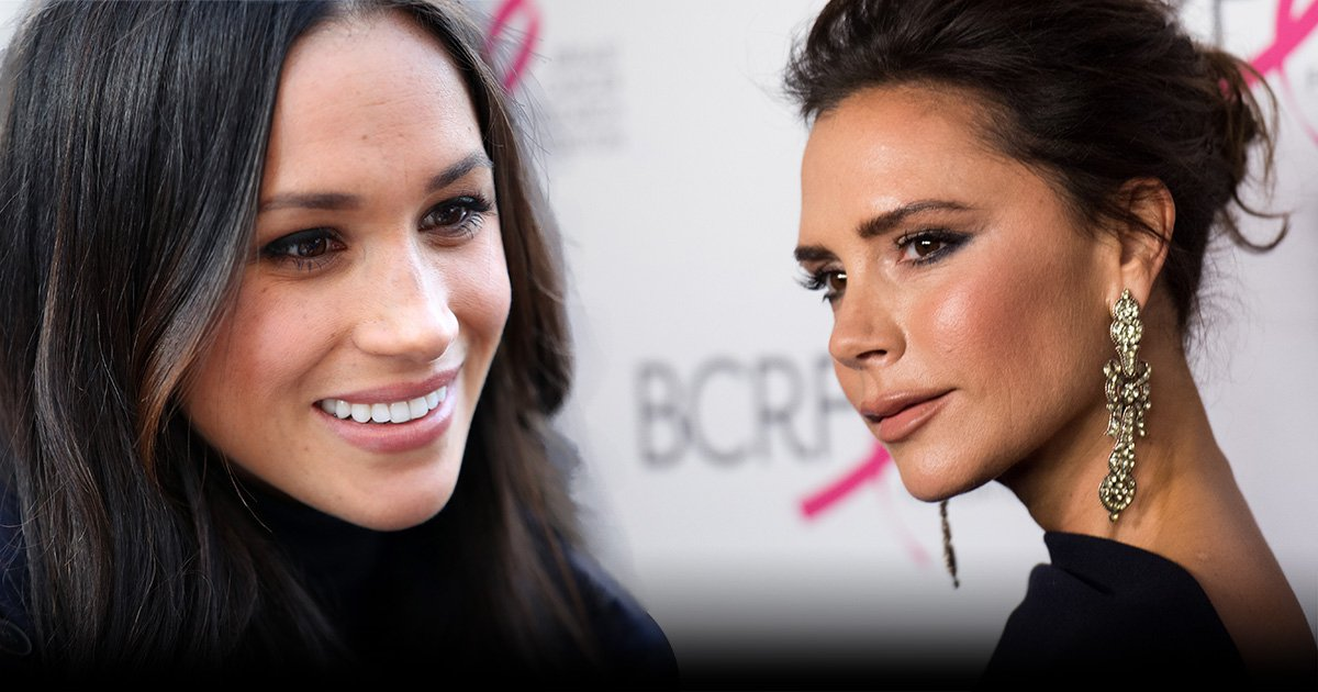 Victoria Beckham and Meghan Markle are friends?
