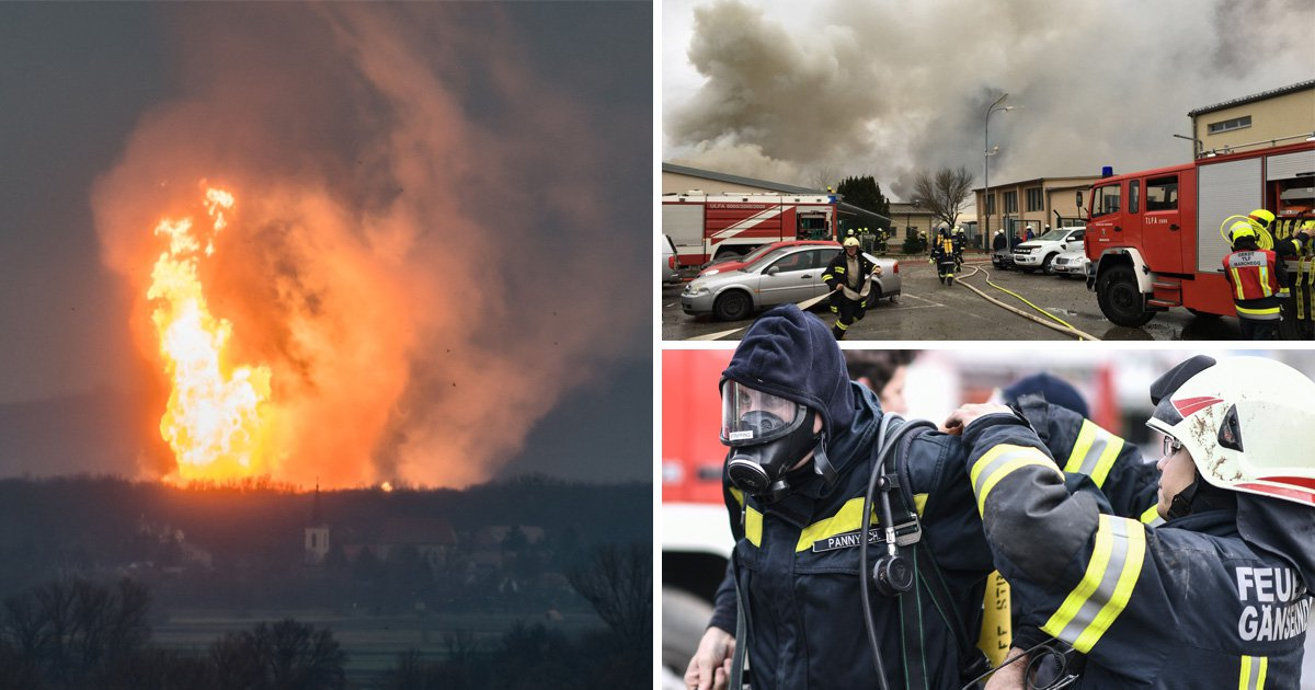 Italy declares state of emergency after major gas explosion in Austria