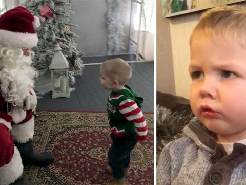 Toddler says 'WTF' when mum tells him Santa's coming