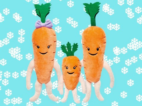 People are going crazy for Aldi's carrot family plush toys