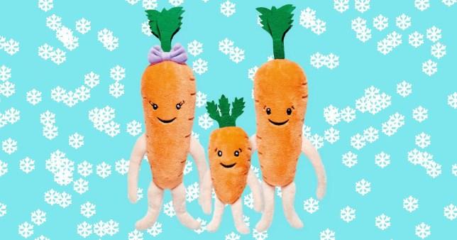 Aldi carrot toys