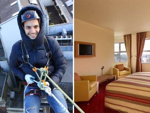 This London hotel is doing a bed, breakfast and abseil package for one night only