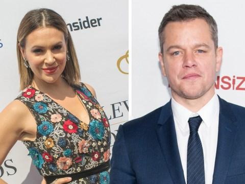 Alyssa Milano shuts down Matt Damon over his comments on sexual misconduct
