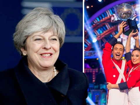 Theresa May among the list of politicians and celebs to congratulate Joe McFadden on his Strictly win