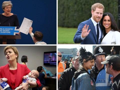 Press Association pictures of 2017: The most powerful images that define the year